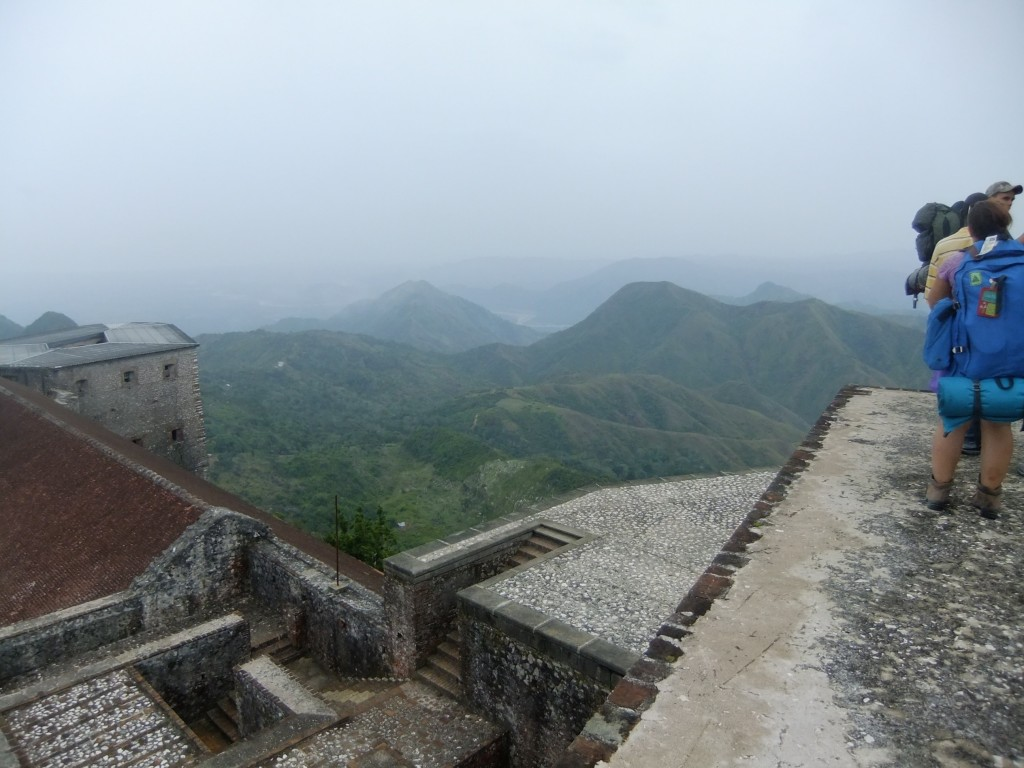 Up top at the Citadelle Laferrière
