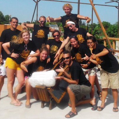 Operation Groundswell's Haiti crew have a whole new appreciation for styrofoam