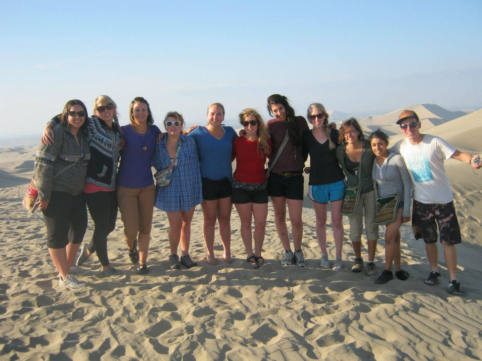Disorientation in the desert near the desert oasis, Huacachina!