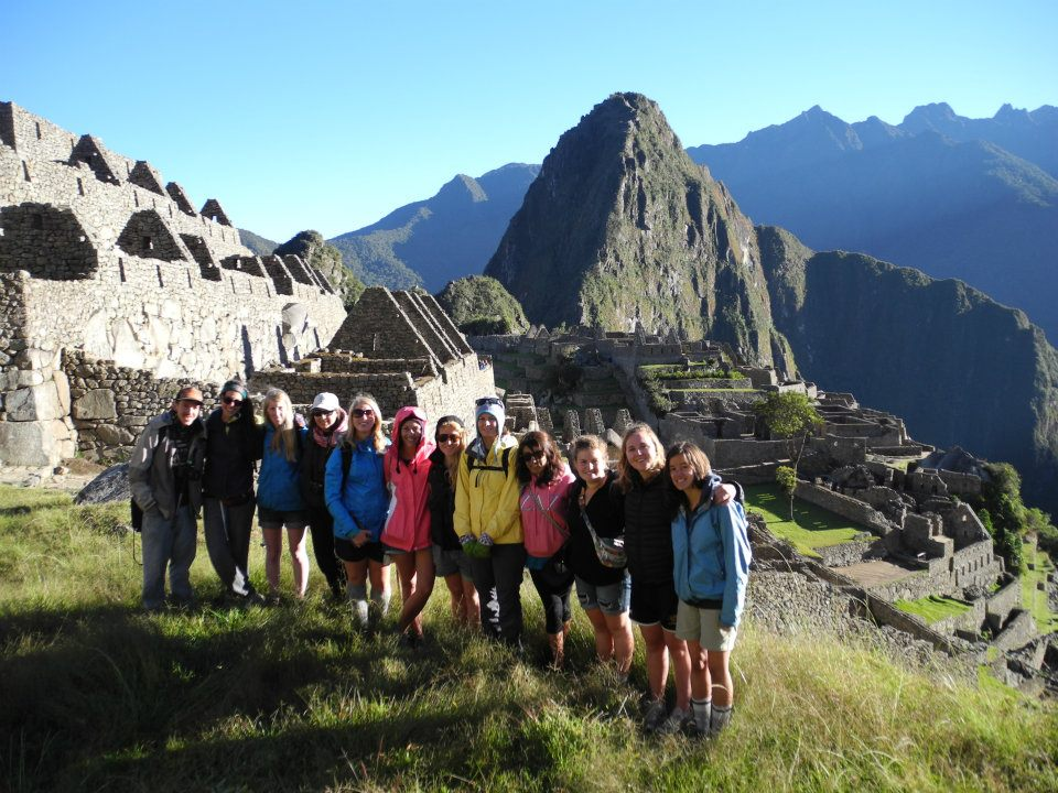 Operation Groundswell Peru in Machu Picchu