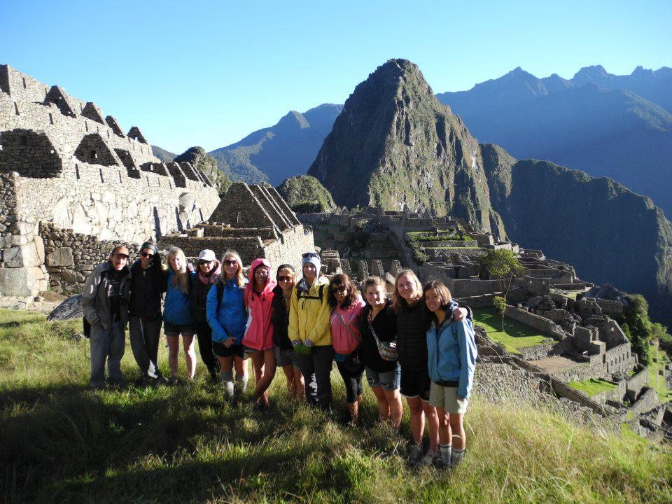Operation Groundswell Peru in Machu Picchu