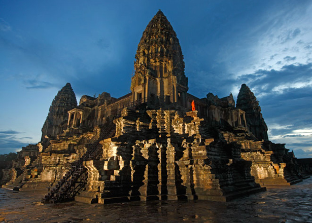 The majestic temples of Angkor