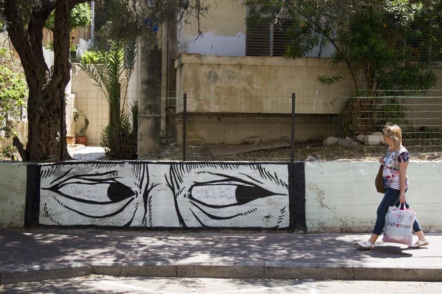 Massada Street in Haifa, Israel