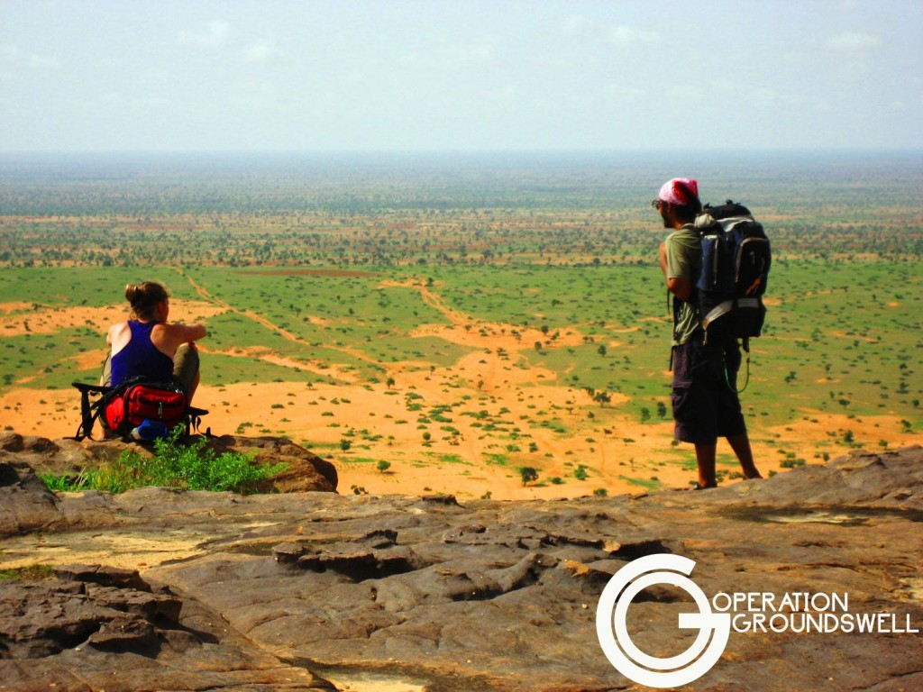 Jo and Taha in West Africa