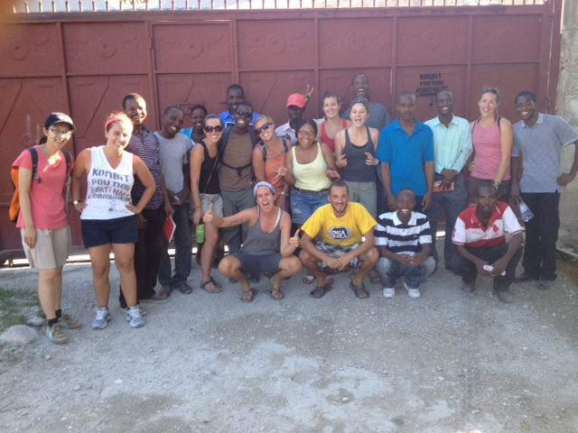 Operation Groundswell Haiti Education crew