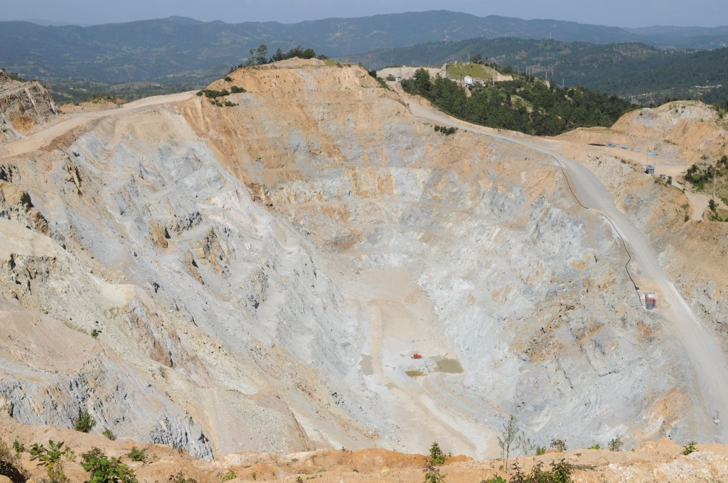 Goldcorp's open-pit Marlin Mine in San Miguel Ixtahuacan