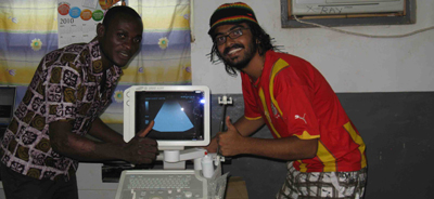 Ultrasound machine in Sandema
