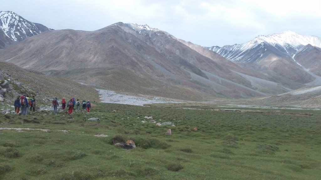Operation Groundswell on the Domkhar trek