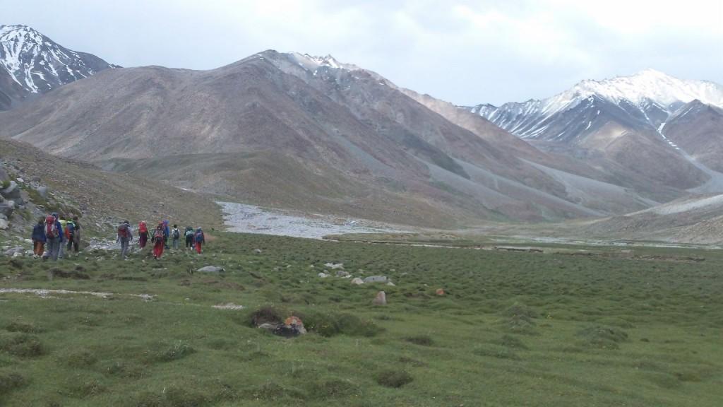 Operation Groundswell on the Domkhar trek