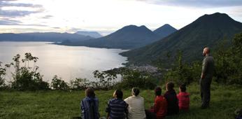 Volcanos of Lago Atitlan
