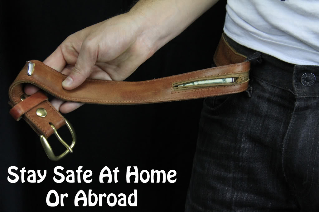 Traveling safe with Stashbelt