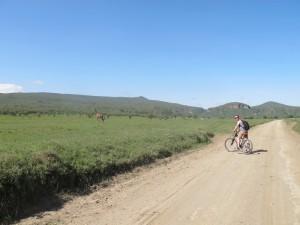 Biking through Hell's Gate