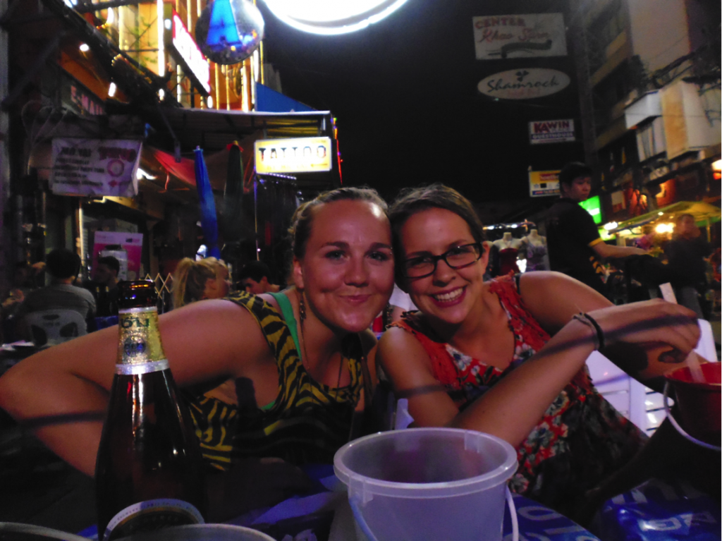 Drinks at Khao San Road