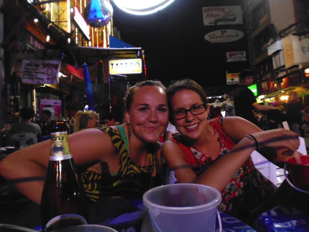 Drinks at Khao San Road