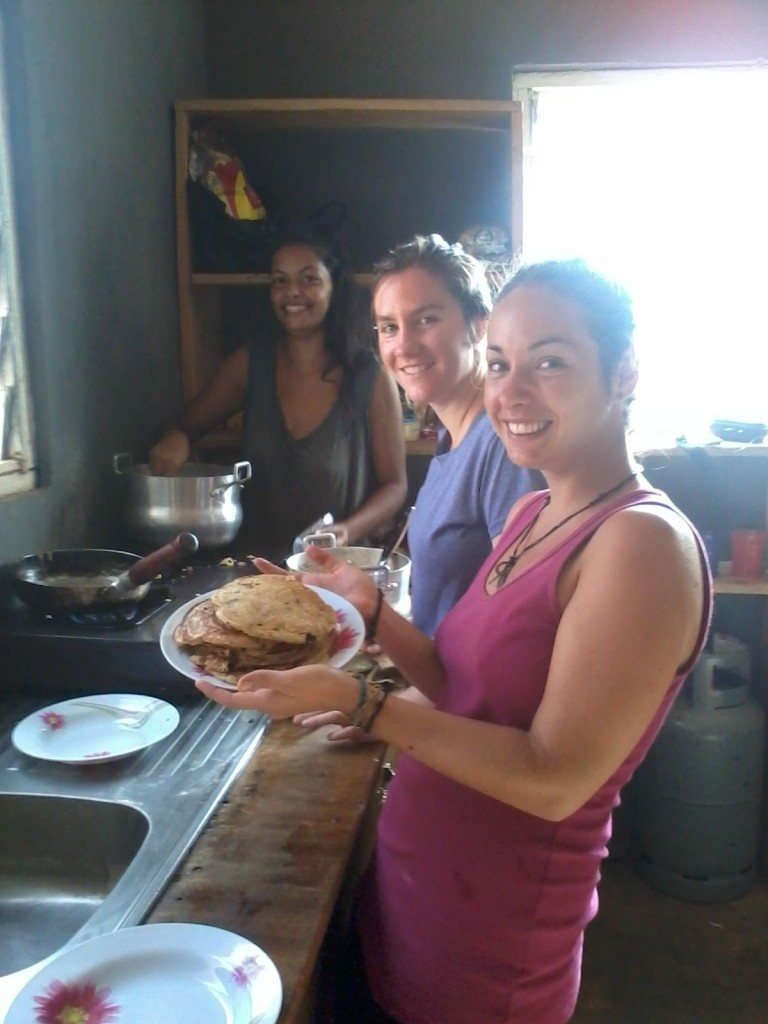 Cooking in Ghana
