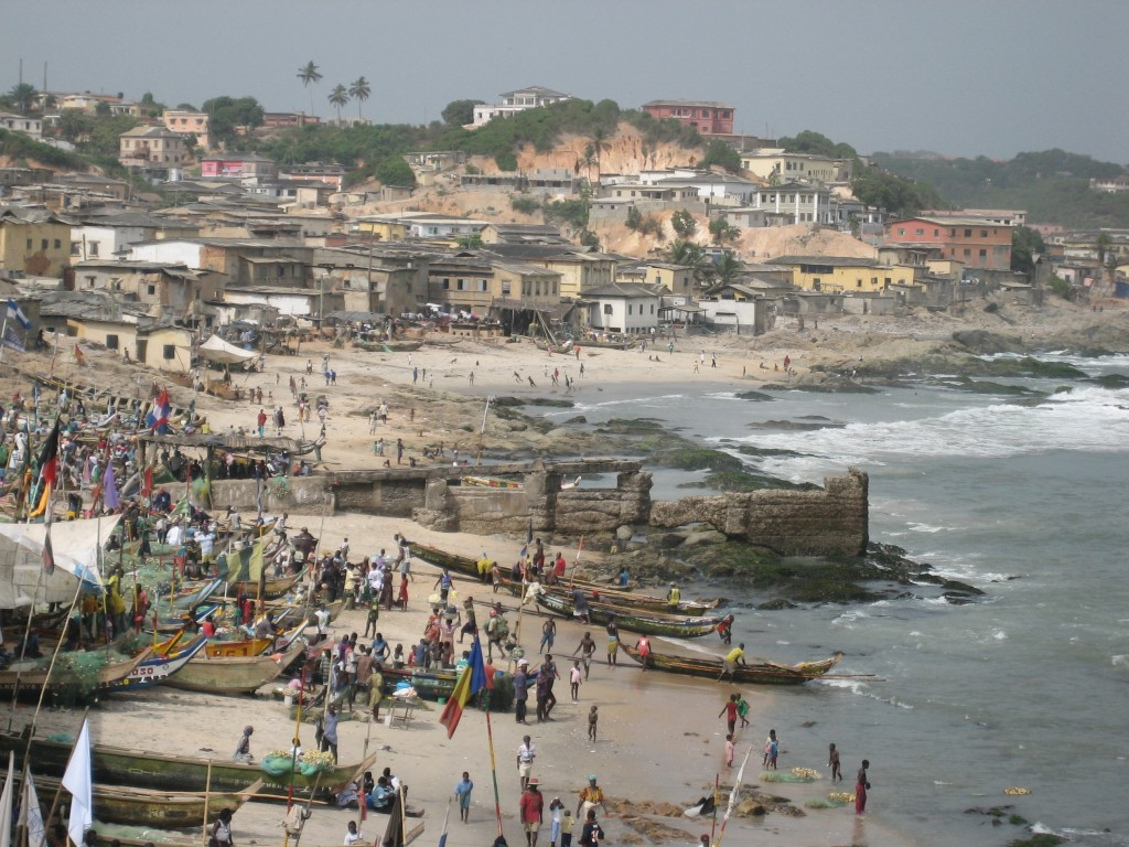 View of Cape Coast