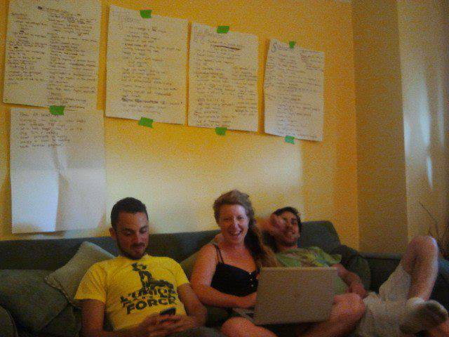 Our programming brainstorm session in June