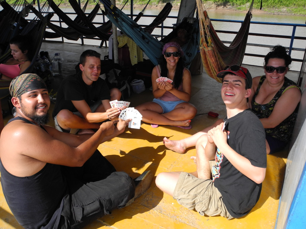 3 day ferry ride along the Amazon River