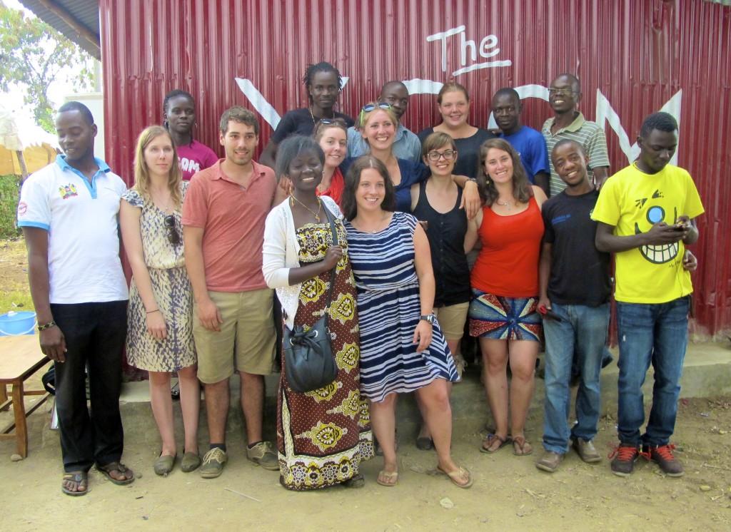 Young County Change Maker's community library in Kisumu, Kenya