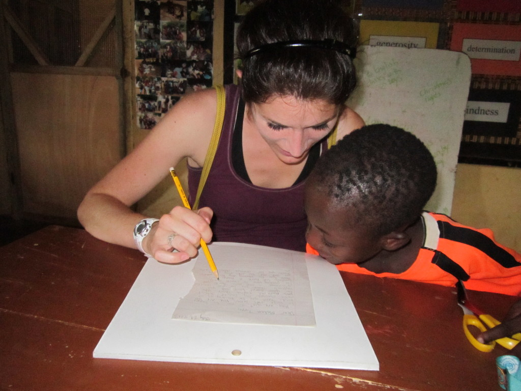 Literacy programs at the Horizons Children's Centre