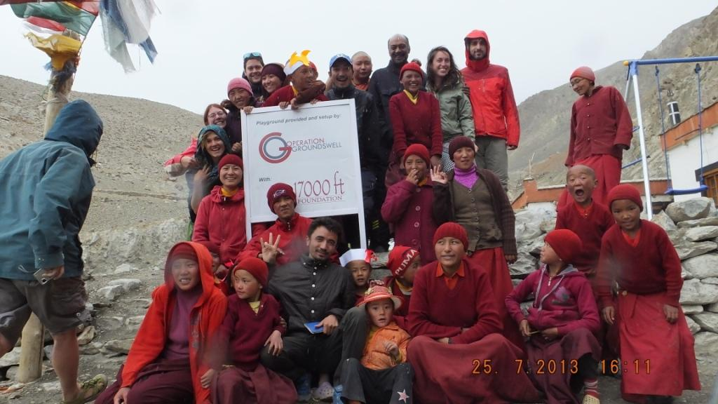 With our partners, 17000 ft.