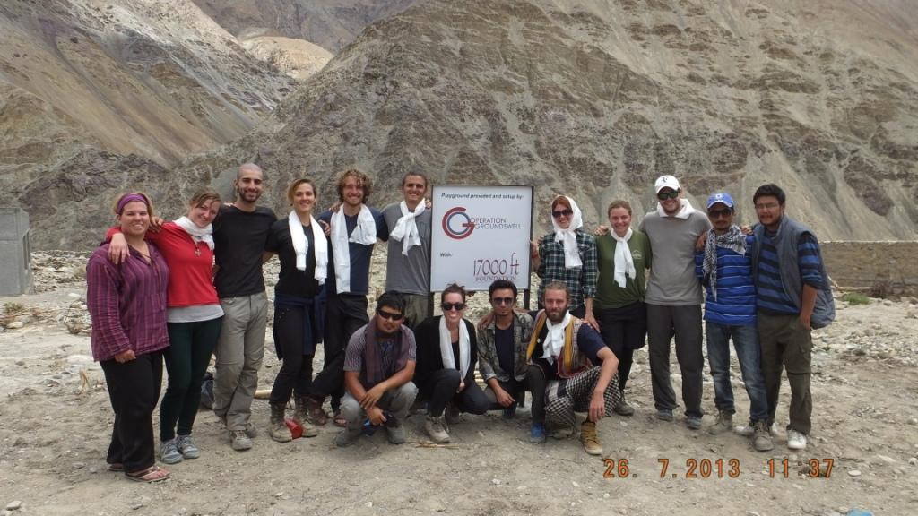 Operation Groundswell India High Altitude Education