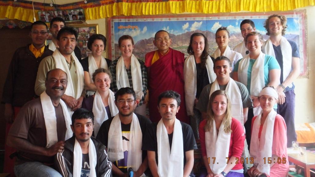 Rinpoche ceremony