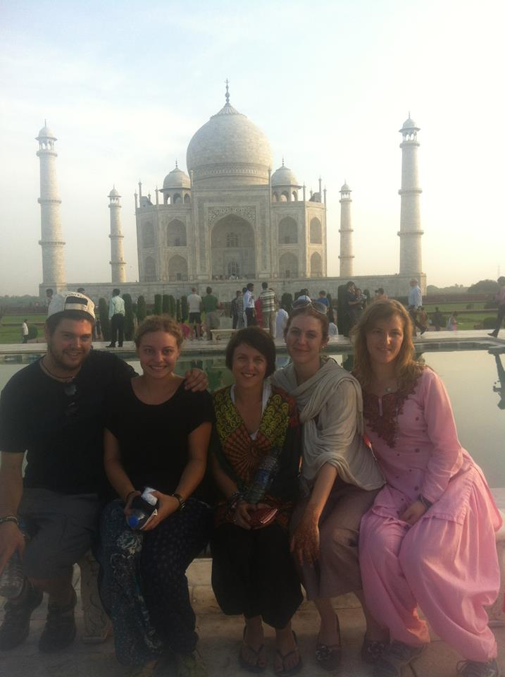One last hurrah at the Taj Mahal