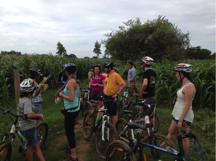 Biking around Phnom Penh