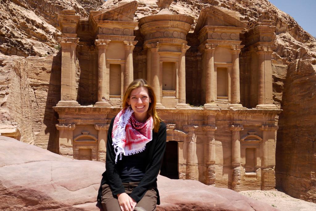 Shannon O'Donnell in Petra, Jordan