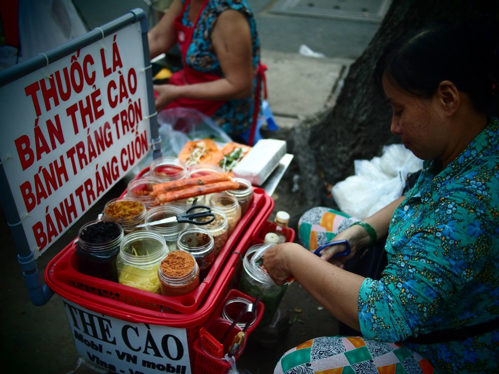 Saigon snacks