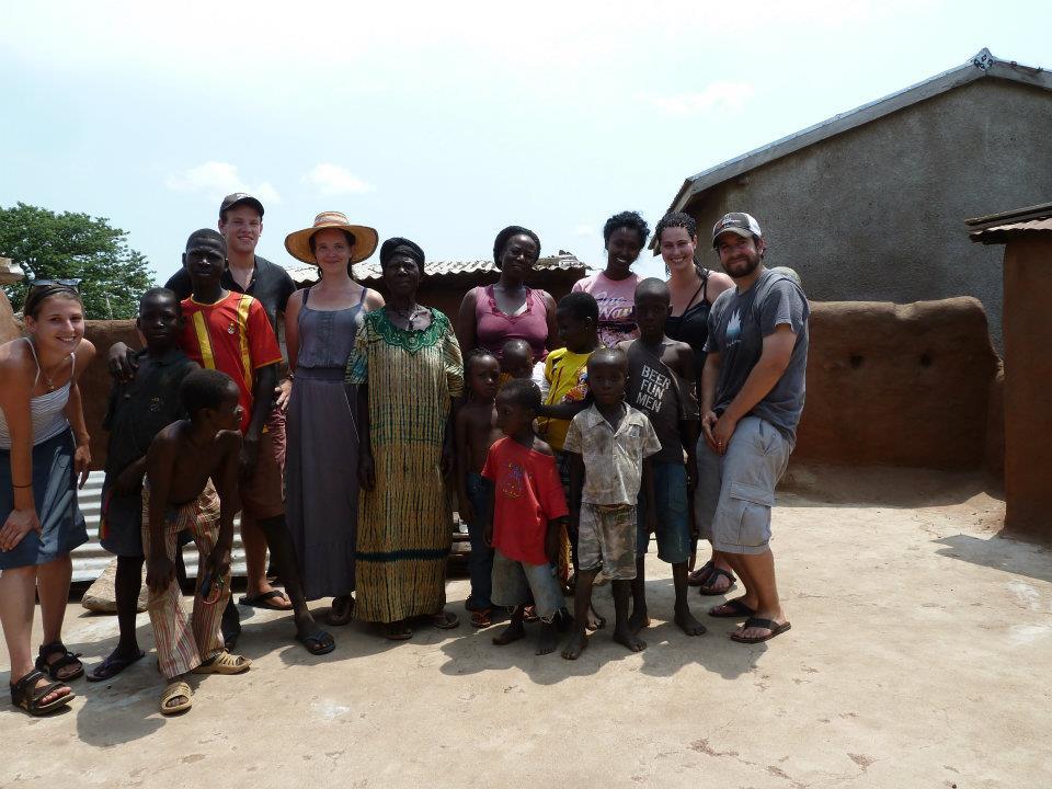 Kevin Kempe in Ghana
