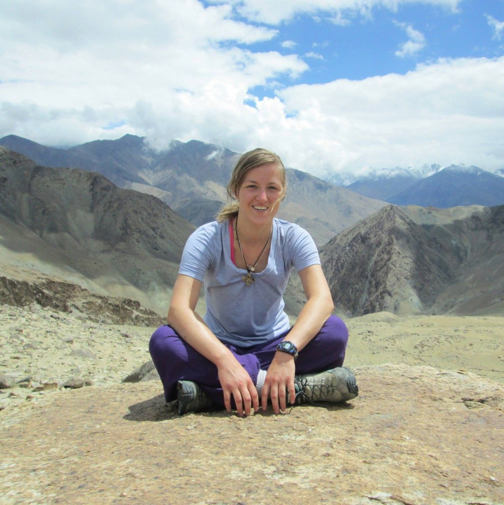 Kathryn Muntz in India