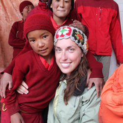 Natalie Gilbert in India