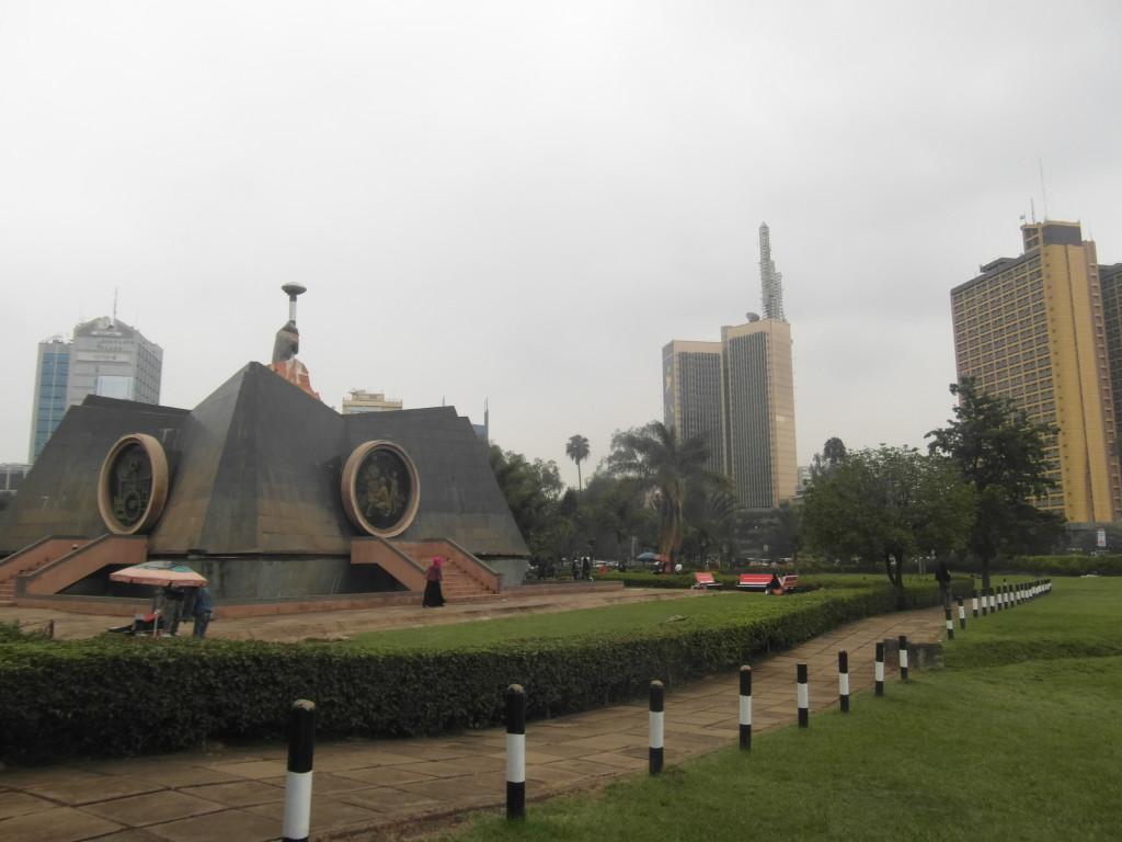 The Nairobi skyline