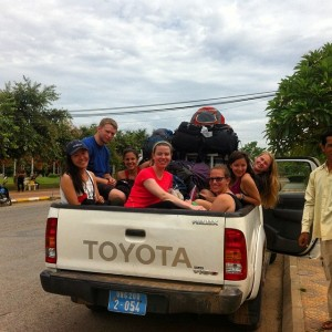 Pickup to Battambang