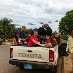 Pickup to Battambang
