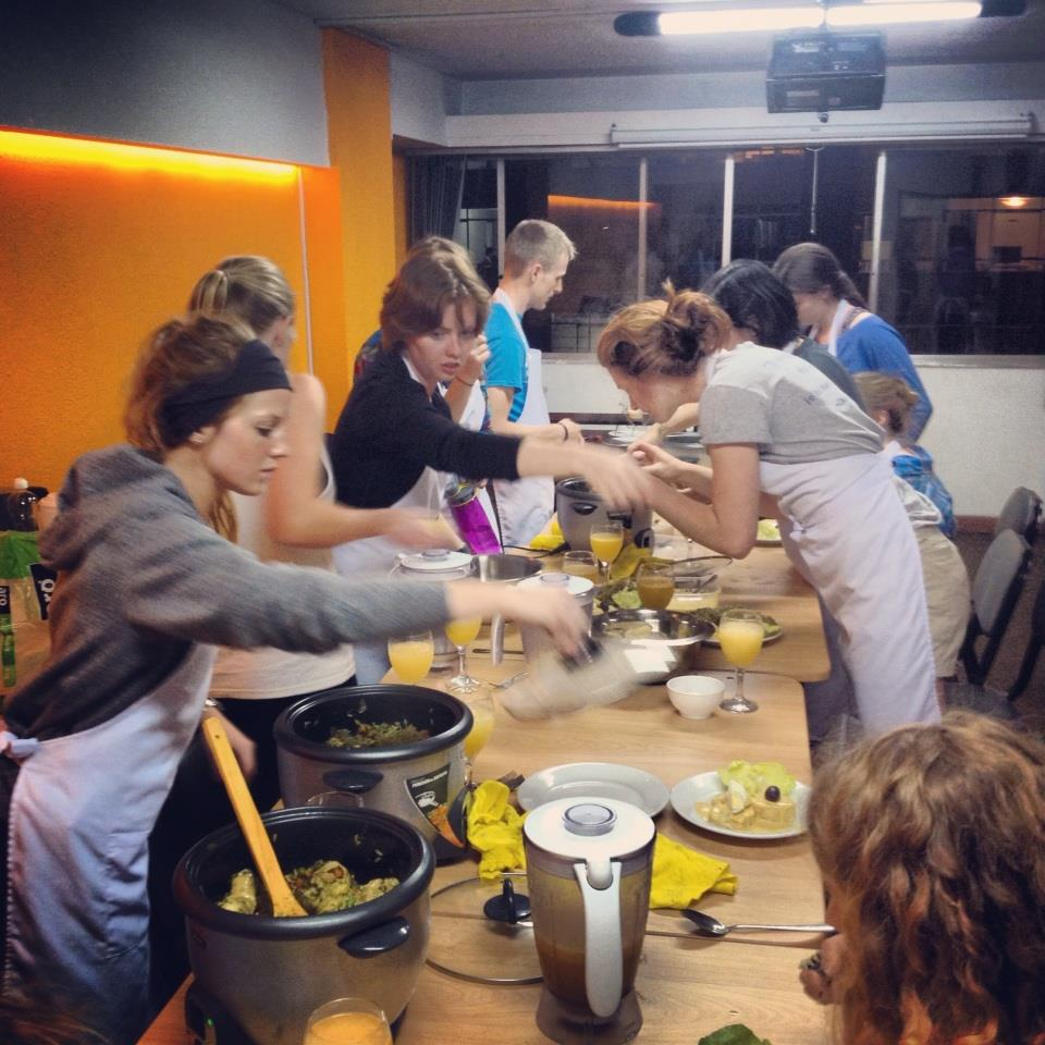 The Art of Living Cooking Class