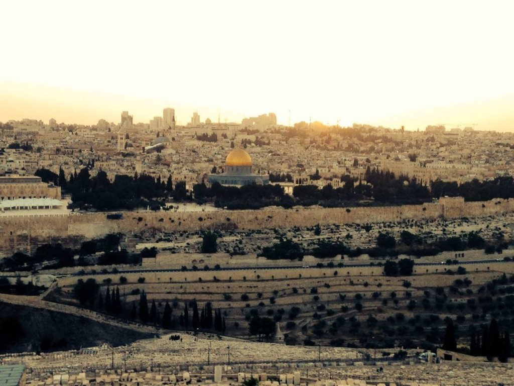 Dome of the Rock at Sunset