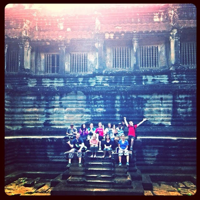 ES Team at Angkor