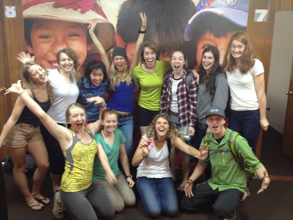 2014 Peru Mind and Body team