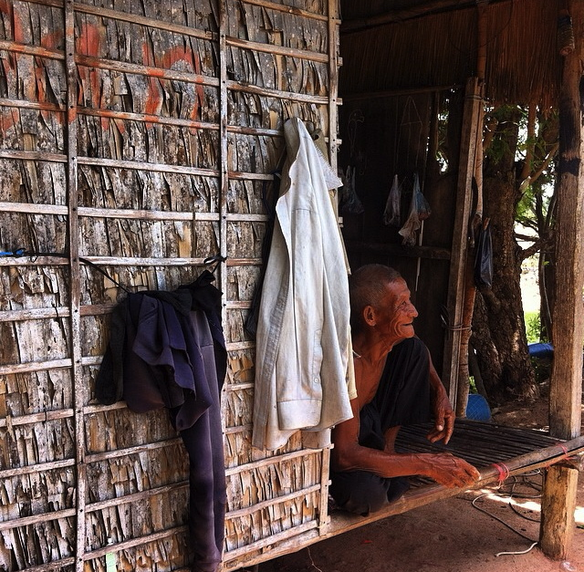The simple life in rural Cambodia