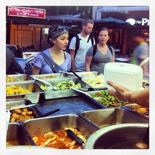 Eating at the Market