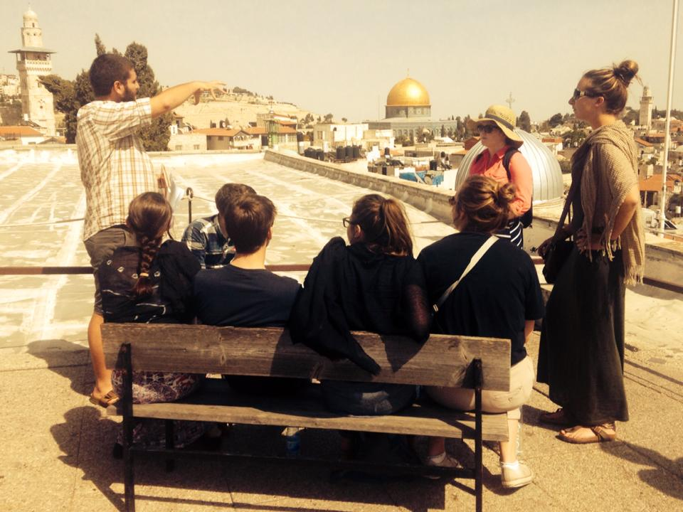 Operation Groundswell tours the Old City