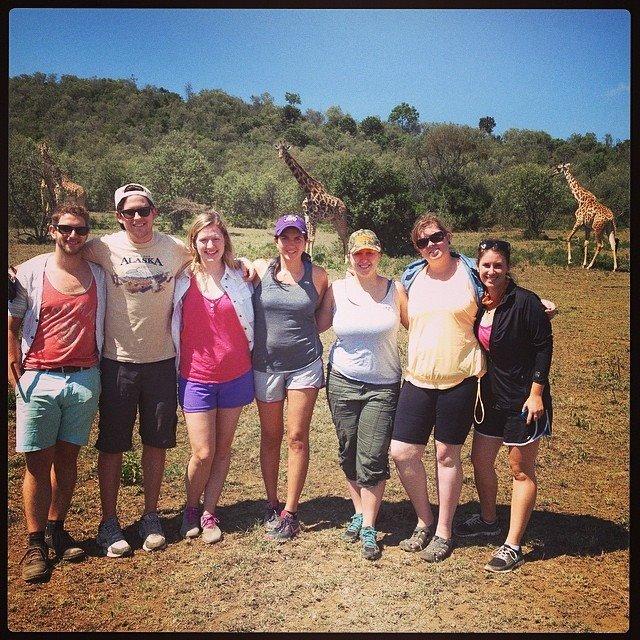 Team at Hells Gate National Park