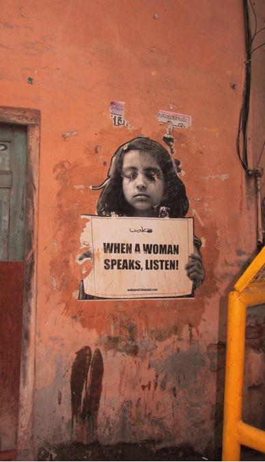When A Woman Speaks, Listen.