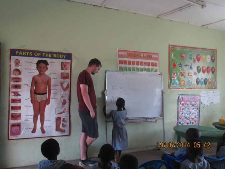 Classroom time in Sandema