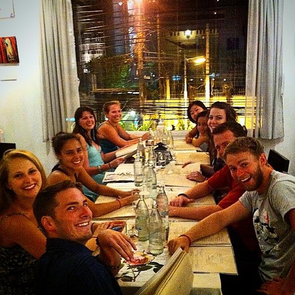 Disorientation Reunion Dinner