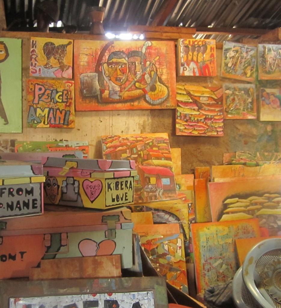 Maasai Mbili Art Studio in Kibera