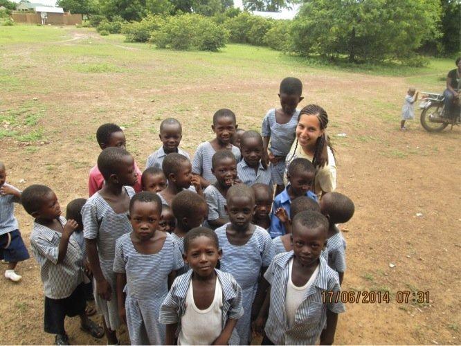 Kids in Sandema
